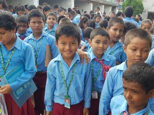 Rencontre avec les enfants de l'école Xénial de Tulasi
