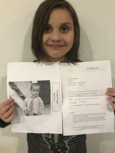Le projet de Lili 9 ans